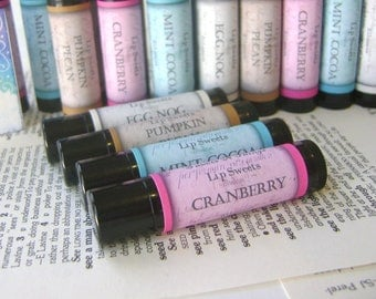 Cranberry Lip Balm, Limited Edition SweetsNThings Holiday Balm