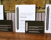 Barley Ale Wedding Invitations, Stout Color, perfect for beer lovers, as well as weddings in breweries and pubs