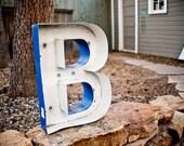 HUGE Vintage Sign Letter Capital B