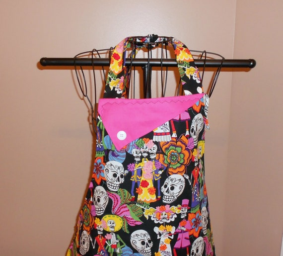 Day of the Dead Apron