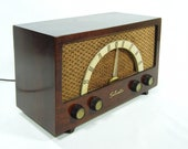 Vintage 50s Wood Radio