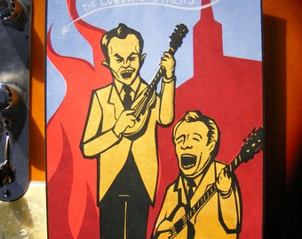 Louvin Brothers Limited Edition Screen Print