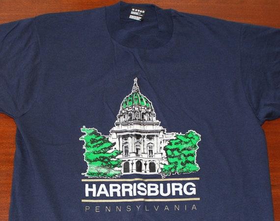 Harrisburg Pennsylvania capital building vintage t-shirt L