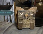 Reclaimed Wood Box - Kitty Kitty