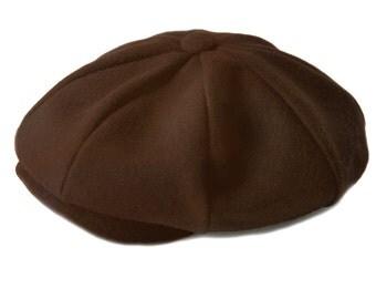 Baby Boy Hat -Newsboy Hat Brown Wool Baby Hat, Ring Bearer Hat Wedding,Infant Hat, Newsboy hat, Newsboy Baby Boy Cap, Baby Hats, Birthday