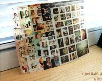 6 Sheets Korea Pretty Sticker Set - Deco Translucent Sticker Set