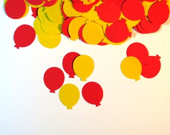 Party Confetti New Years Eve Red Yellow 450 Pieces