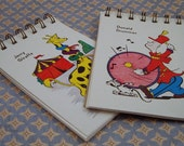 Game Card Notepads--Set of 2
