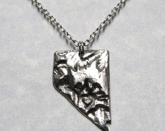 Nevada Love State Necklace