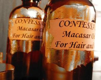 Contessa's Macassar Oil for hair and body