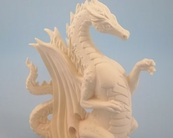 Fire Dragon Bisque u paint it your self