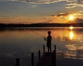 Gone Fishing - 8x10 Photograph