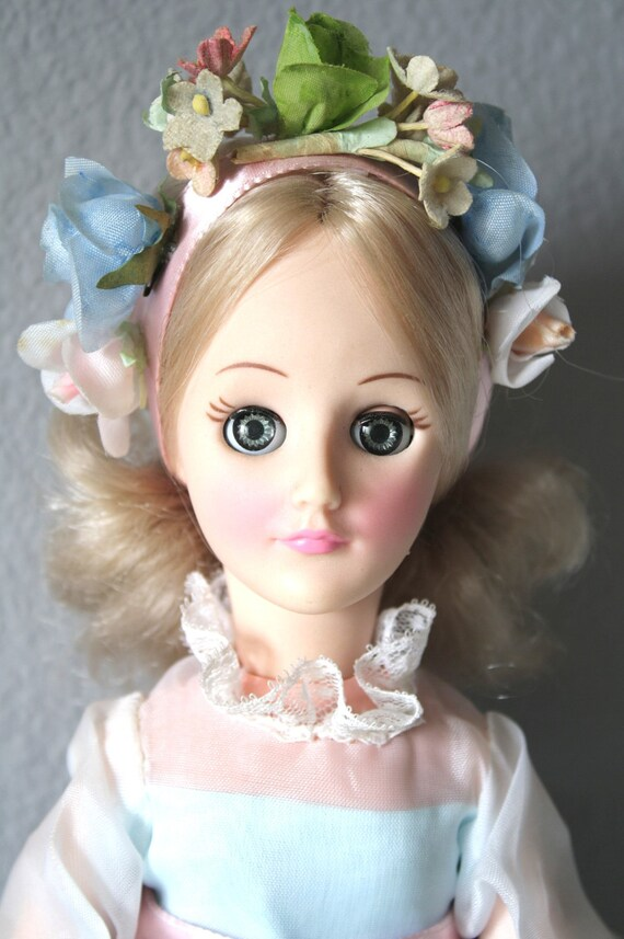 Effanbee Bridesmaid Doll Vintage 1981 Wedding Party By