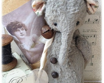Sewing Pattern for 6 inch elephant Romeo PDF Ebook