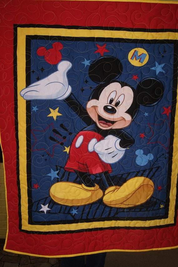 Mickey Mouse Quilt