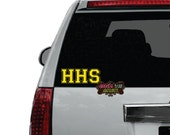 School Letters Vinyl Car Decal