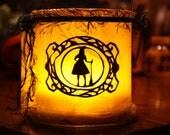Bats & Broomsticks Lantern