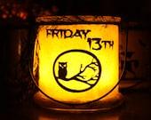Friday The 13th Lantern