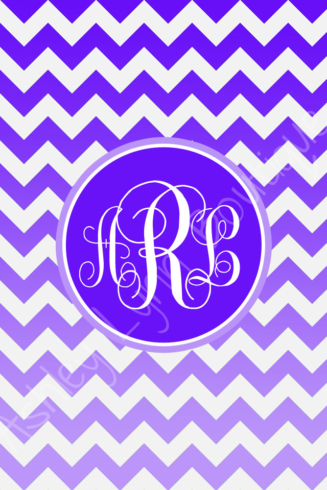 chevron monogram iphone 5 wallpaper - photo #11