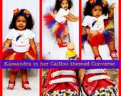 Custom made Converse Bling Baby Bling Tennis Shoes Girls Baby Adult Pageant Party