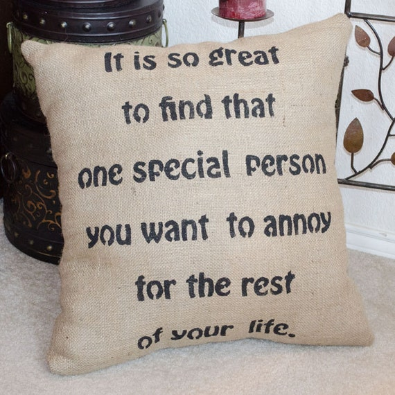 Funniest Wedding Gifts: Items Similar To Wedding Gift Pillow, Wedding Pillow