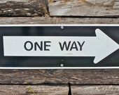 One Way -Photograph 8x10