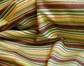 FABRIC: Riley Blake - Doohickey Designs - Hooty Hoot Kangaroo - Green Stripe C3017