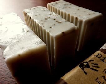 French Vanilla Latte Handmade Soap 3 bars
