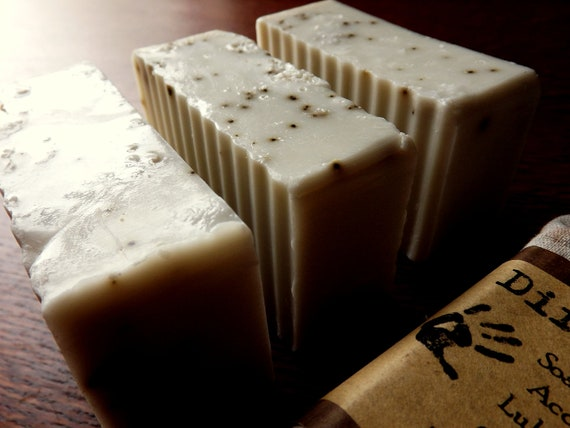 French Vanilla Latte Handmade Soap 1 bar by DirtyDeedsSoaps