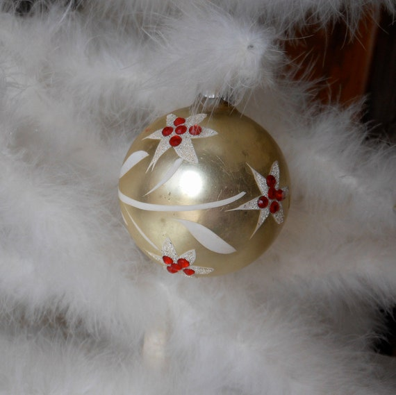 Antique Shiny Brite Christmas Ornament Made in Germany