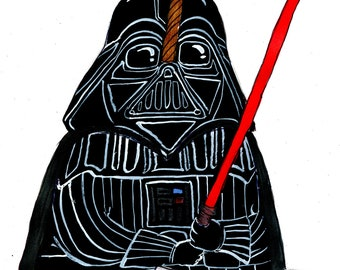 Darth Vader Narwhal