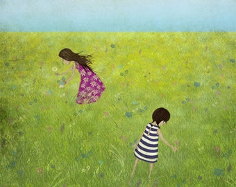 Field of summer - Art print (3 different sizes)