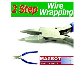 6.5in Mazbot  2 Steps  Wire Wrapping  Pliers  -  WWP103