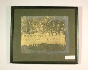 Antique Victorian Confirmation Photo