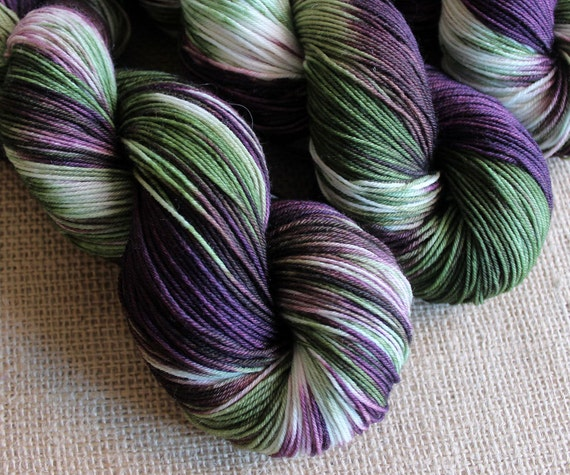 Joker - SW Merino & Nylon Sock Fingering Yarn - Hand Dyed - 462 yards