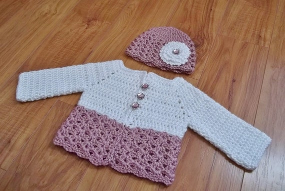 Free Crochet Baby Sweater Pattern