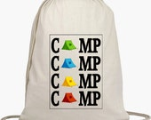 Camp Backpack with Tents- Drawstring Backpack -Customize for free