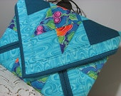 Ipad sleeve, tablet sleeve, quilted padded electronic sleeve, ipad case