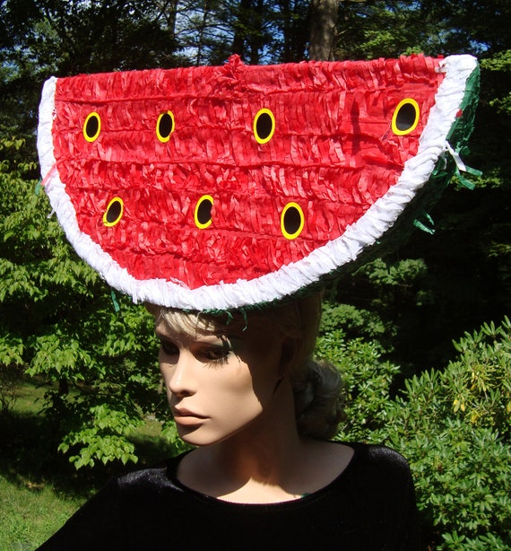 Watermelon Headpiece Fruit Hat