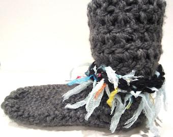 Boho Boot Socks, Warm Winter Socks, Chunky Socks, Tall Socks,  Hippie Clothes, Festival Clothes, Fairy Clothes, Bohemian Clothing, Socks