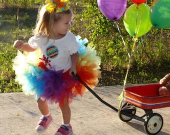 Rainbow Lollipop Petti Tutu Set