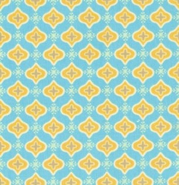 Dena designs for free spirit tea garden sencha in blue for Dena designs tea garden fabric