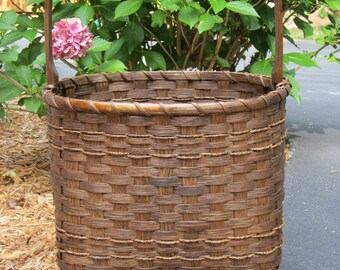 Magazine Basket-Handwoven Basket-Storage Basket