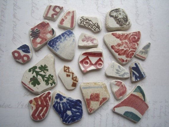 Scottish Sea Pottery Grab Bag Mix SP901