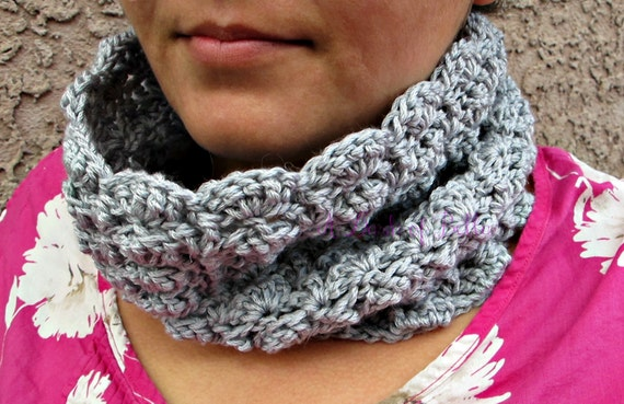 Crochet Cowl Pattern Vintage Inspired Fancy Cowl for Women and Teens