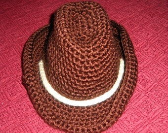Infant Toddler Cowboy Hat Boy Girl Baby Shower Gift Homecoming