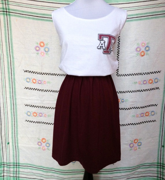 Texas A&M Aggie Aggies Game Day T Shirt Tee Dress