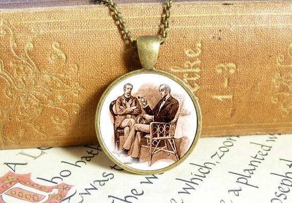 Holmes & Watson - Vintage Necklace