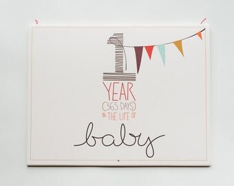 "baby's first year calendar - ""girl"" coloring"