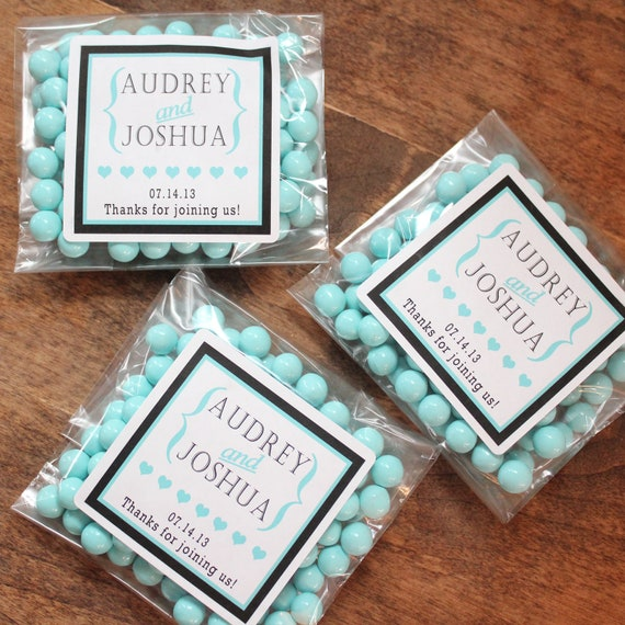 Items Similar To 24 Wedding Favor Candy Bags Cookie Bags